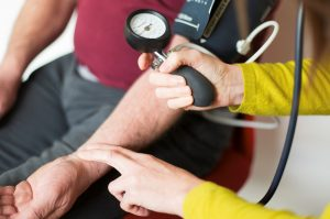 Osteopathy for blood pressure